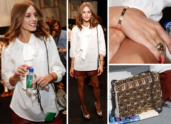 Pictures of Olivia Palermo at Tibi Spring Summer Show at New York Fashion Week: Her Her Front Row Outfit from All Angles!