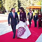 Queen Rania Independence Day Dress 2016