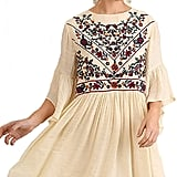 BoHo Bliss! Mandy and Ally Embroidered Bell-Sleeve Dress