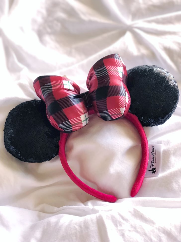 Christmas Minnie Mouse Disneyland.Disney S Holiday Minnie Mouse Ears 2018 Popsugar Family