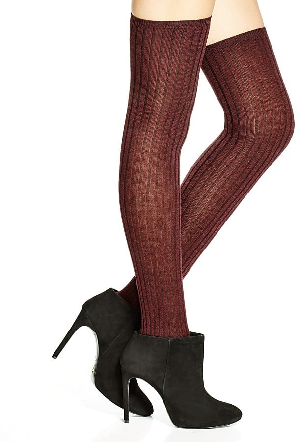 Hue Marled Rib Over-the-Knee Socks ($12)