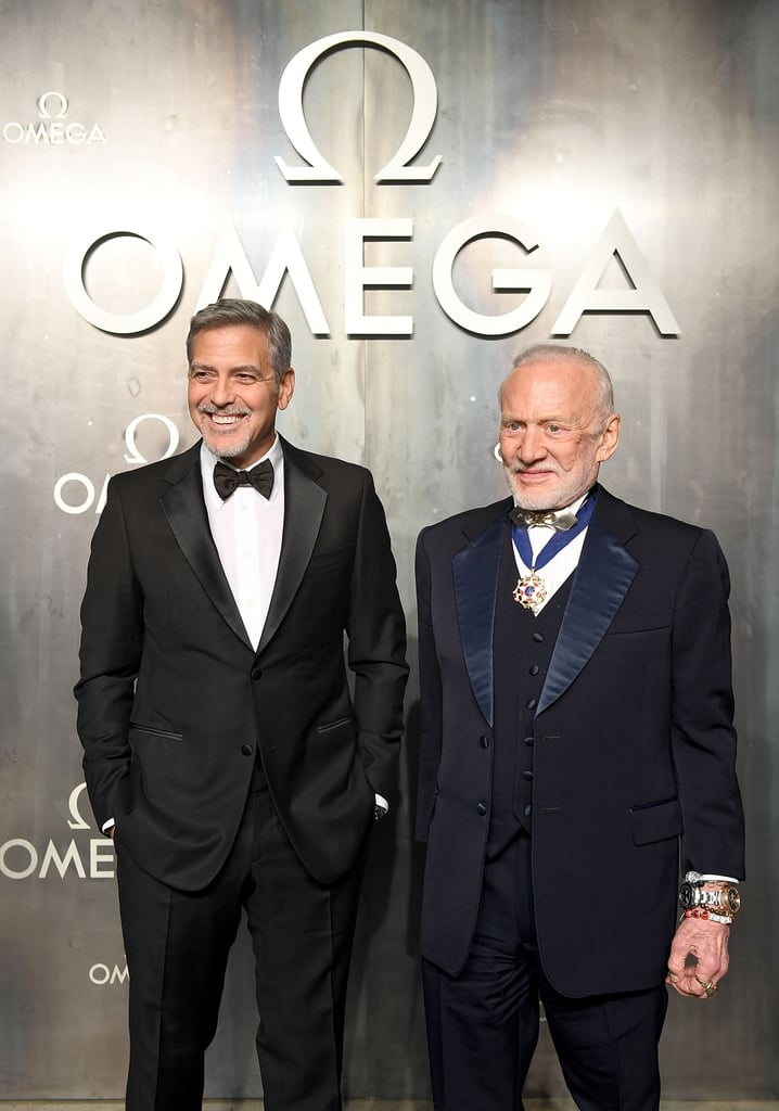 With Buzz Aldrin.