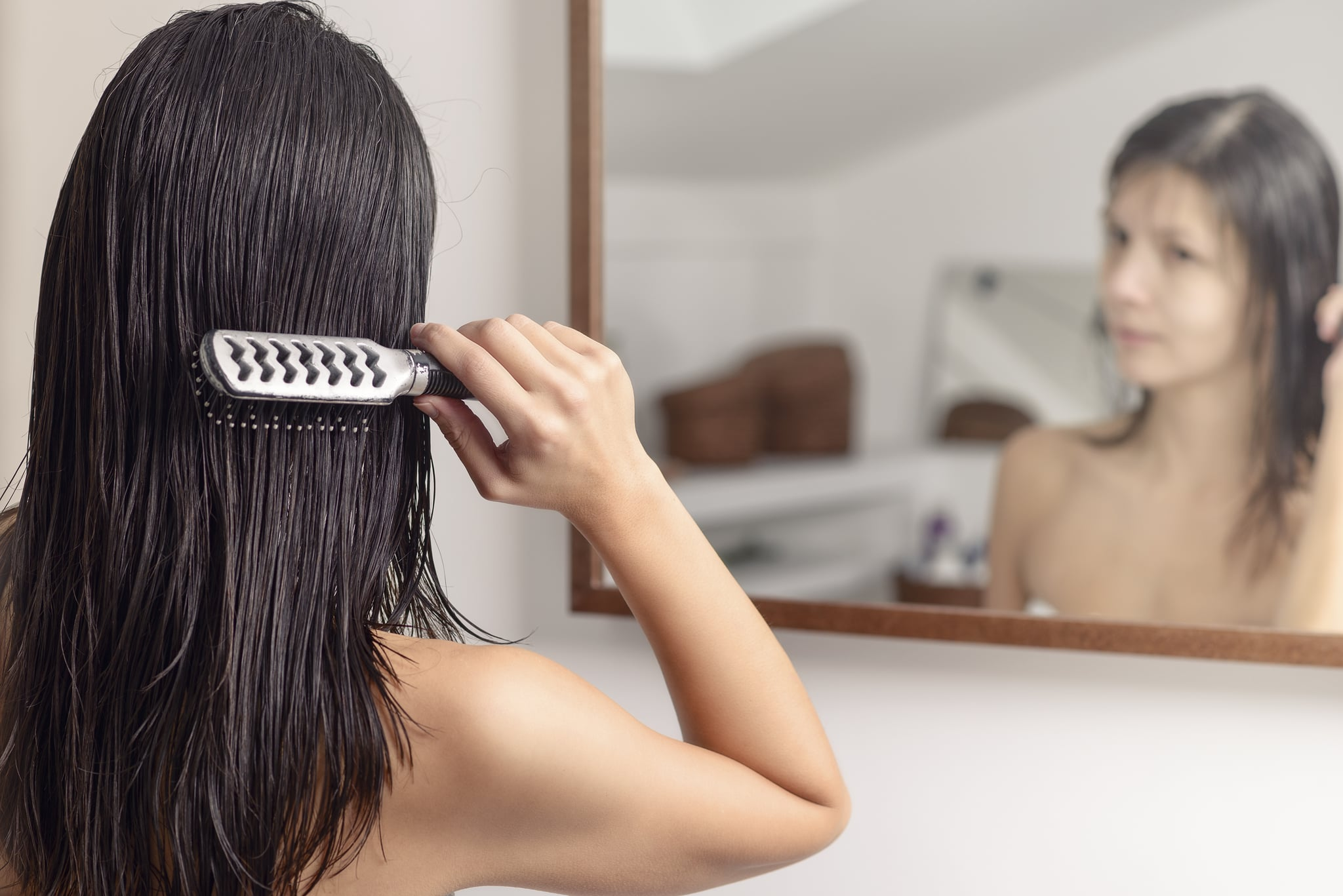Think Your Hair Is Damaged? Here's An Easy Way to Tell