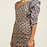 Isabel Marant Étoile Liila Paisley-Print One-Shoulder Dress ($705)