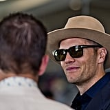 In 2017, Tom Brady looked cool in his fedora and sunglasses.