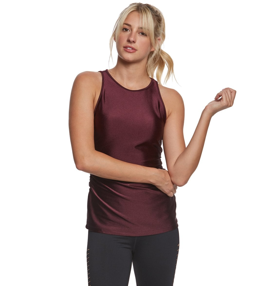 Pink Lotus Movement Disco Royal High Neck Yoga Tank Top 27 Yoga Gifts Under 25 That Will Thrill Even The Most Zen Yogi Popsugar Fitness Photo 26