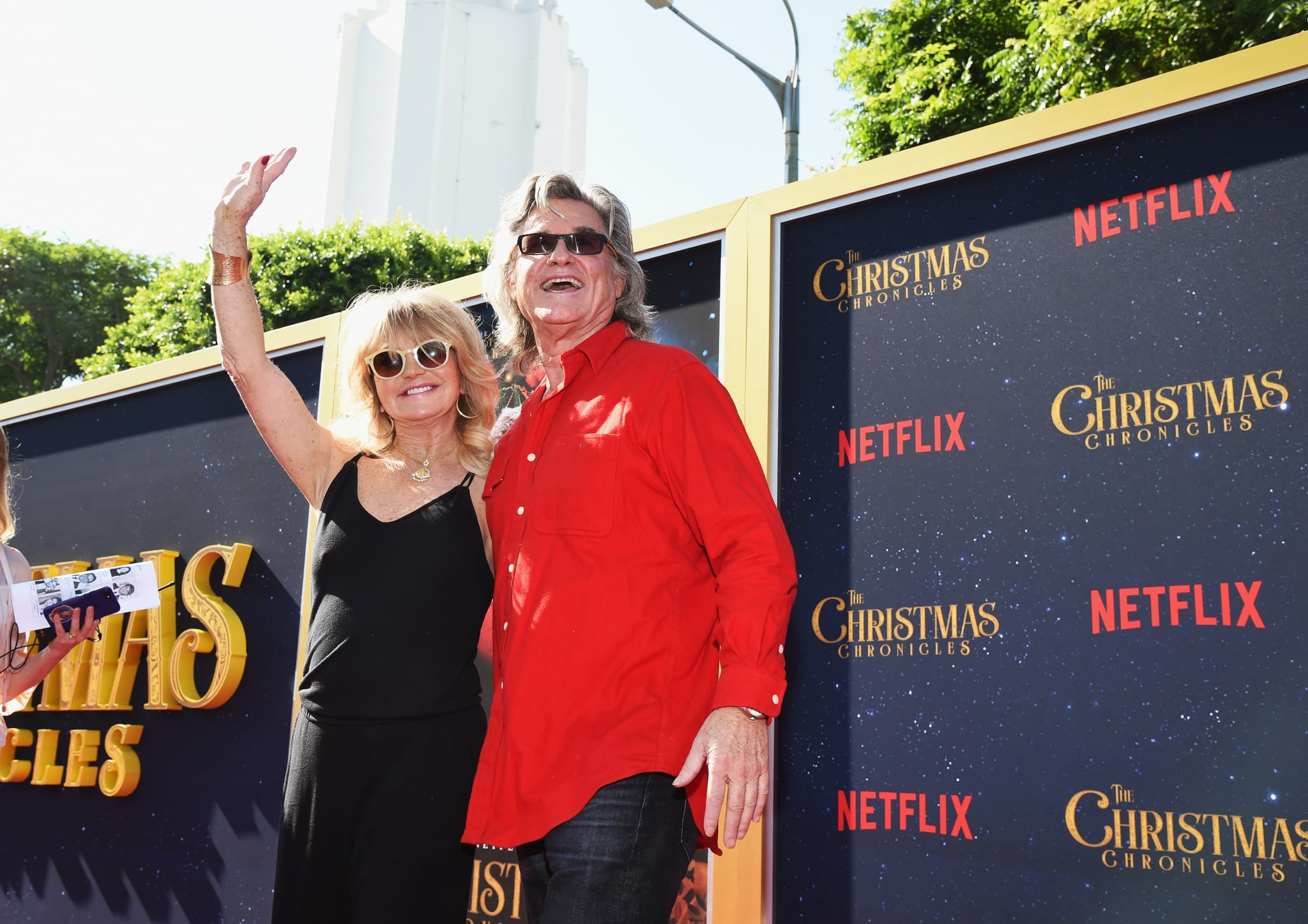 The Christmas Chronicles 2.Celebrity Entertainment Kurt Russell And Goldie Hawn