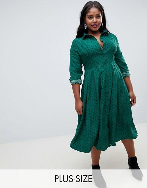 Glamorous Midi Shirt Dress