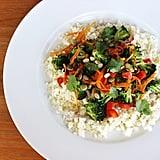 "Whole30 Cauliflower ""Rice"" Stir-Fry"