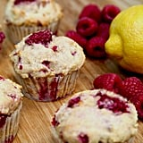 Low-Sugar, High-Protein Lemon-Raspberry Muffins