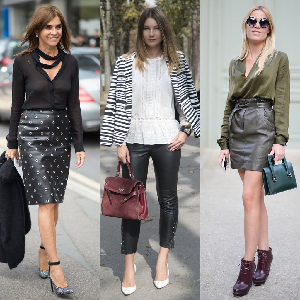 9 Ways to Wear Leather Like a Pro at the Office
