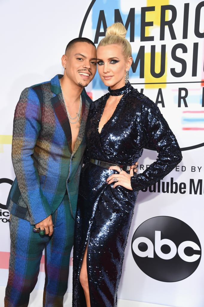 Ashlee Simpson and Evan Ross at 2018 American Music Awards