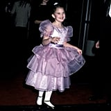 Seven-year-old Drew Barrymore attended the Golden Globes in 1983 to celebrate ET.