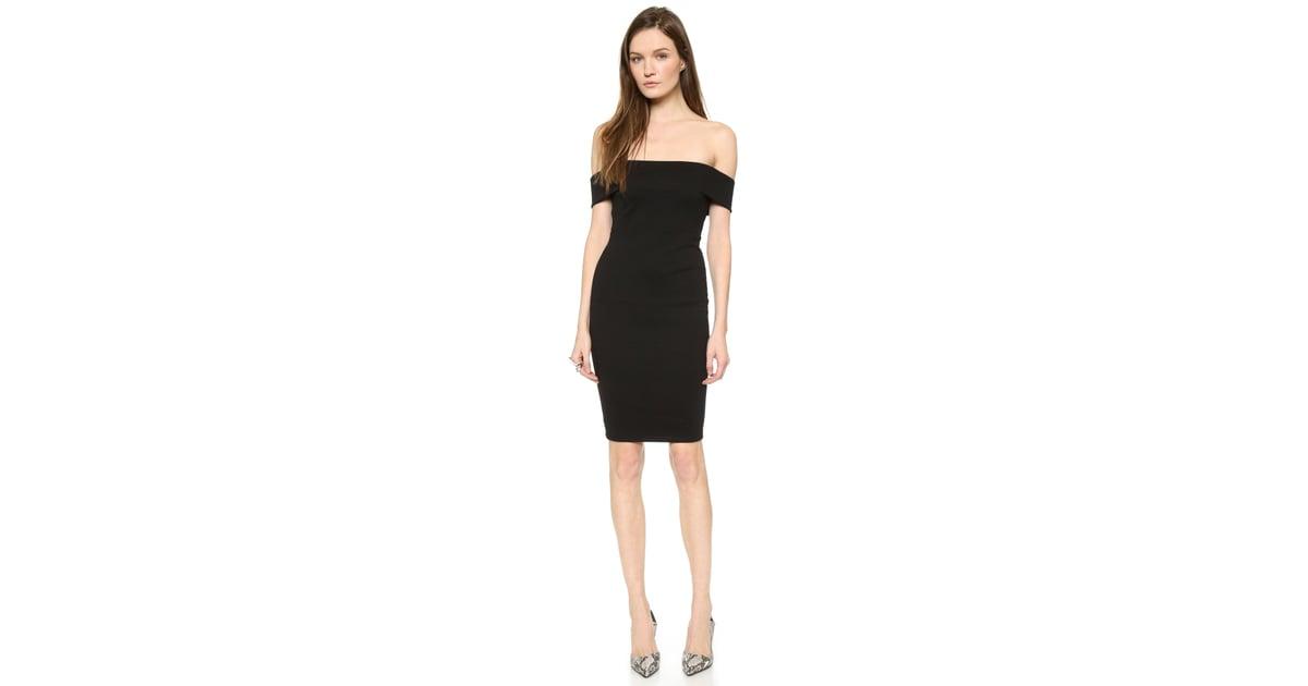 f9bd9bbf533 Mason by Michelle Mason Off-Shoulder Dress ($391) | Best Black Dresses |  POPSUGAR Fashion Photo 13
