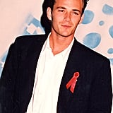 Luke Perry smoldered.
