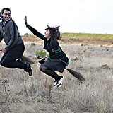 You would make all your friends jealous with your sweet engagement pics.