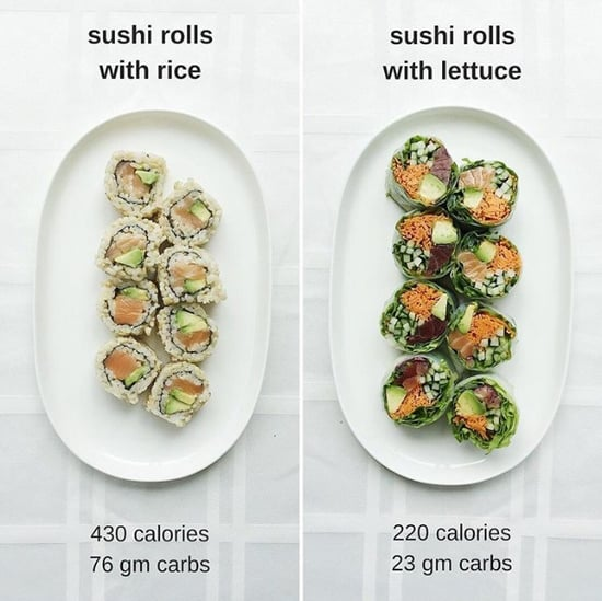 Healthy Sushi Swap to Lose Weight
