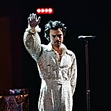 Harry Styles Performing at the 2020 BRIT Awards