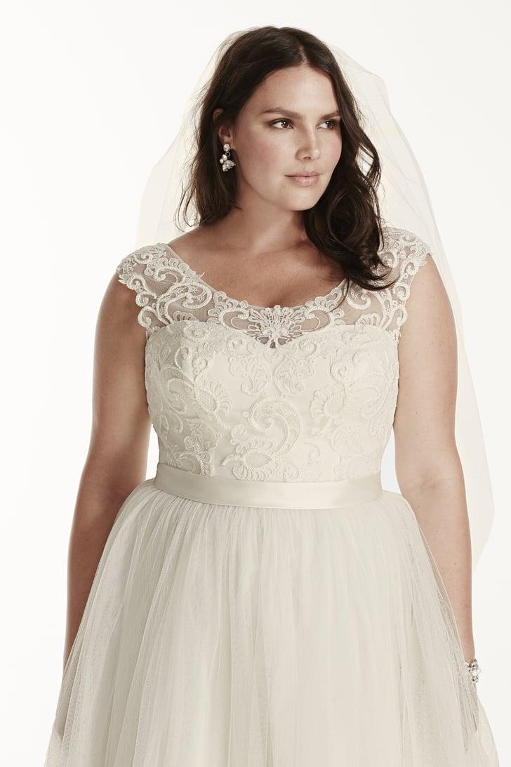 Affordable Plus Size Wedding Dresses Us217