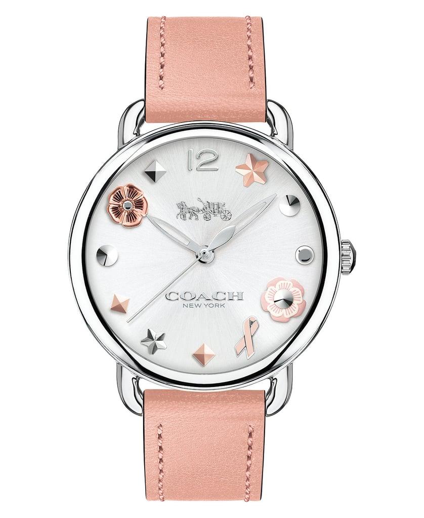 Coach Delancey Pink Watch