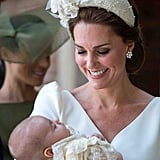 Kate Middleton at Prince Louis's Christening