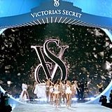 The Victoria's Secret Fashion Show catwalk looked more like a concert stage.