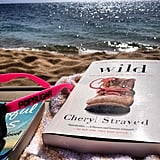 """Beach reading day with my POPSUGAR shades."""