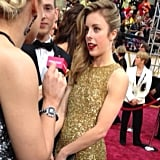 Figure skater Ashley Wagner may not have won gold at the Olympics, but she sure rocked that dress!