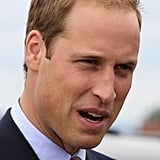 Prince William wore a suit in Ottawa.