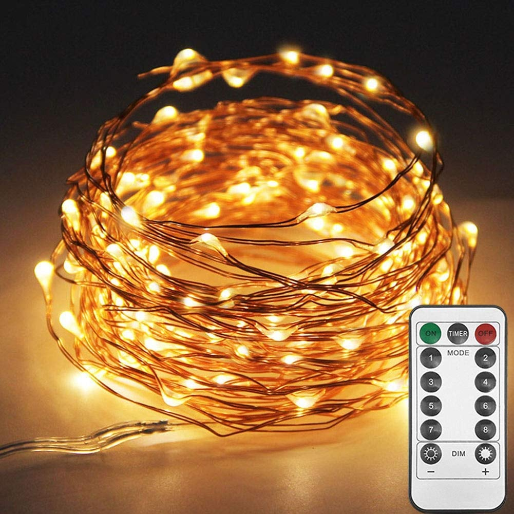 Twinkle Star 33ft 100led Copper Wire String Lights It S