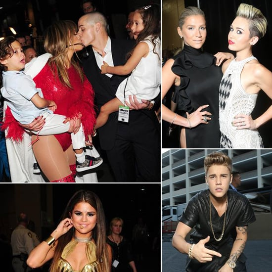 Celebrities Backstage at the Billboard Music Awards 2013
