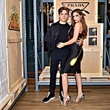 Barbara and Dylan at the Prada Linea Rossa Event in September 2018