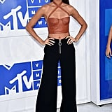 Joan Smalls at the 2016 MTV Video Music Awards