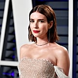 Emma Roberts at the 2019 Vanity Fair Oscars Party