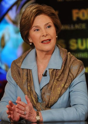 Laura Bush's Rumored Advance Looks Small Next to Hillary's