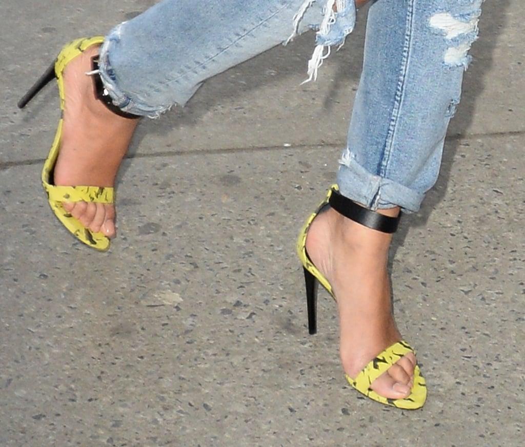 Beyoncé Sexy Shoes