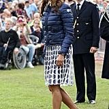 A Moncler Puff Coat