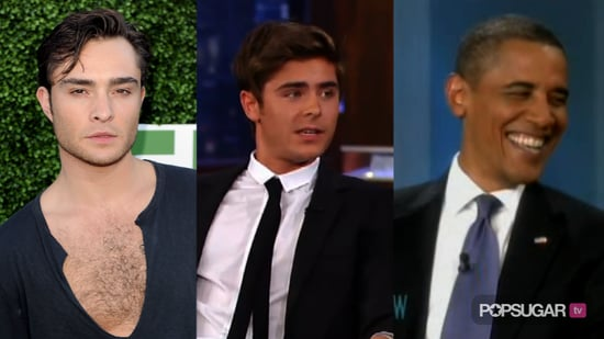 Ed Westwick and Matt Lanter Interview About Robert Pattinson and Kristen Stewart, Video of Zac Efron Talking About Visiting a St 2010-07-29 14:38:48