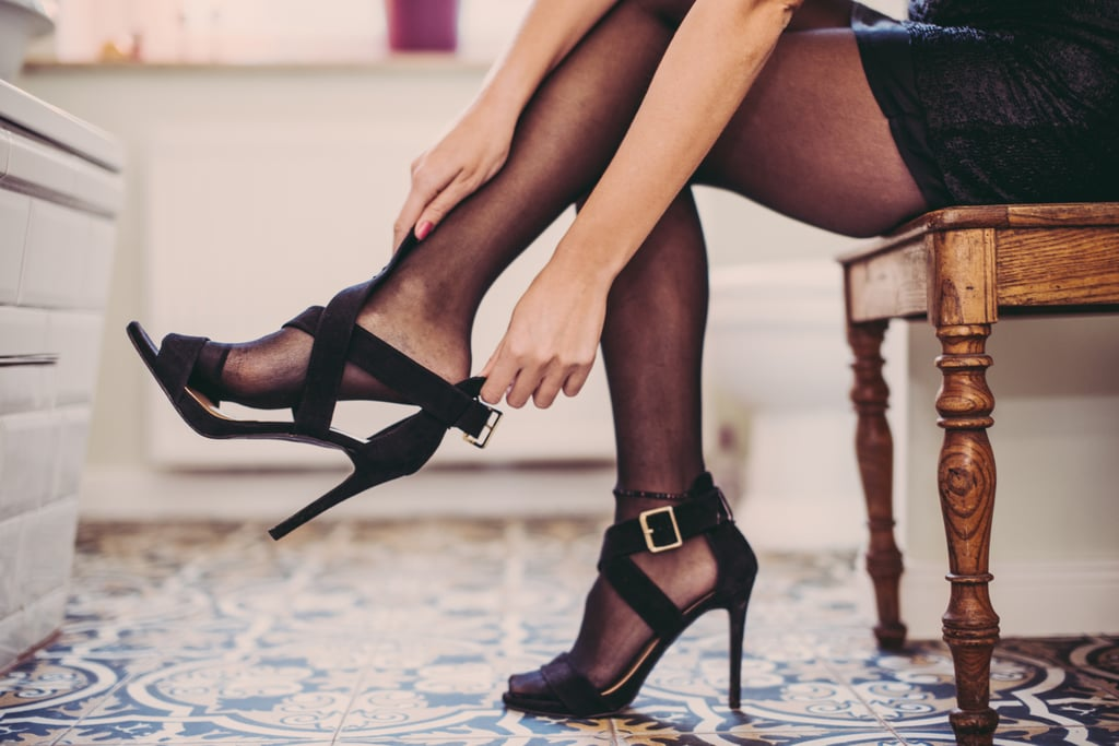 Treat yourself to a new pair of heels or red lipstick.