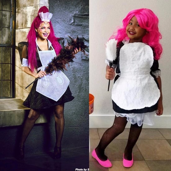 Christina Milian Daughter Violet Halloween Costume 2016