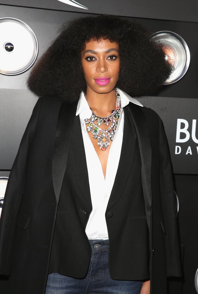 Celebrity Hair and Makeup at Super Bowl Parties 2014