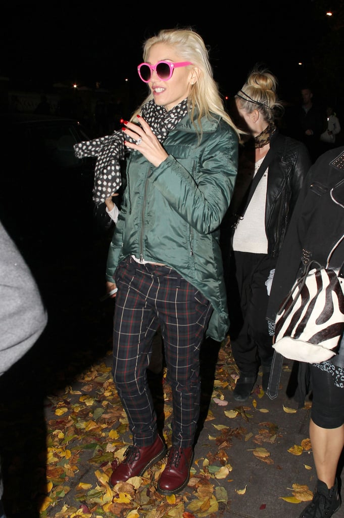Gwen Stefani looked ready for Fall.