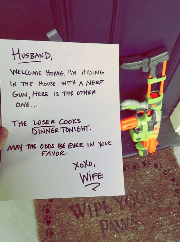Funny Love Notes