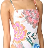 Choose this floral Mara Hoffman High-Leg One-Piece ($225).