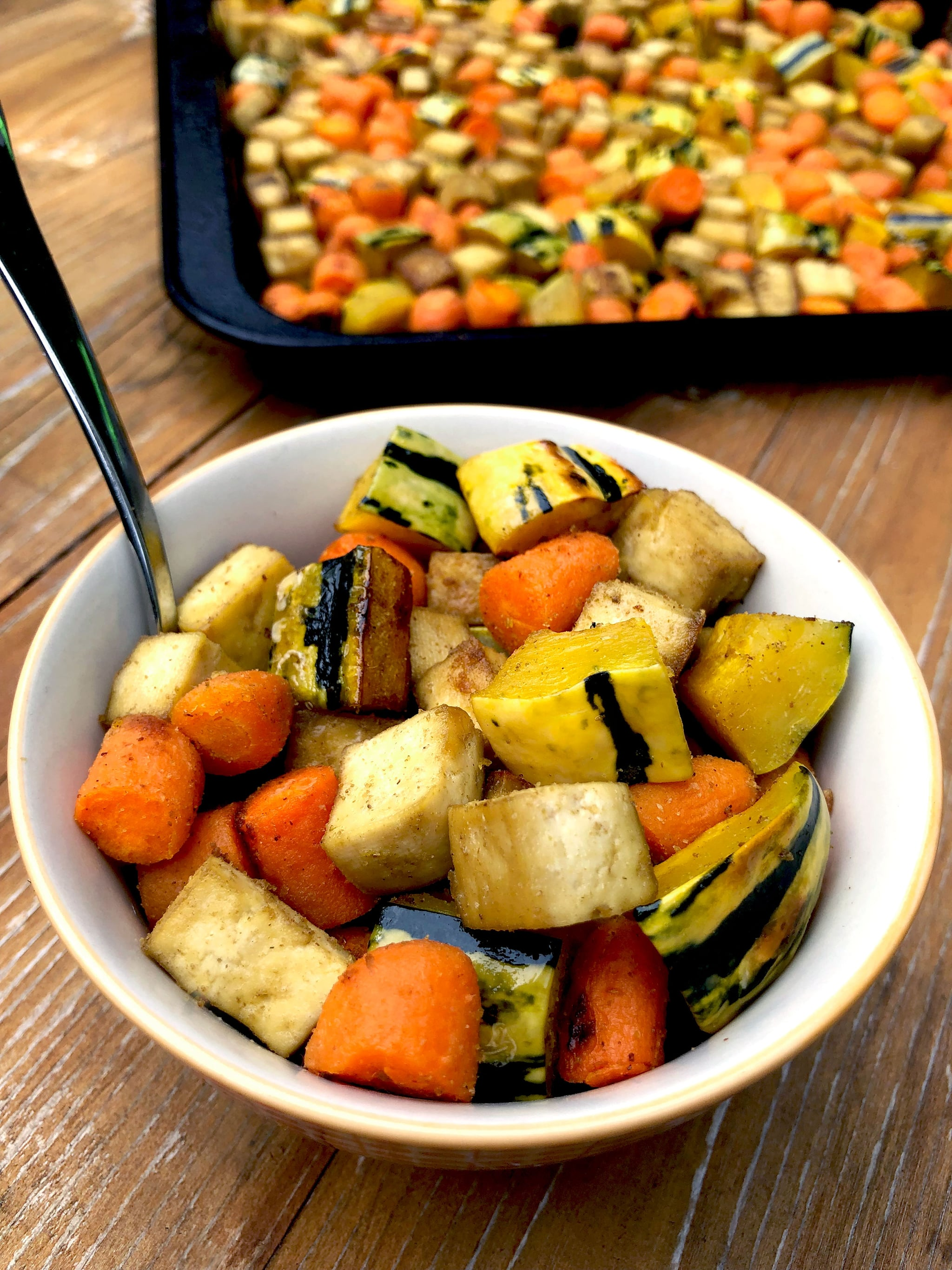 With Over 20 Grams of Protein, This Fall-Inspired Vegan 1-Pan Dinner Is Ready in 45 Minutes