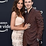 Kevin and Danielle Jonas at Chasing Happiness Premiere