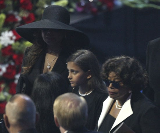 LaToya, Katherine, and Paris Jackson