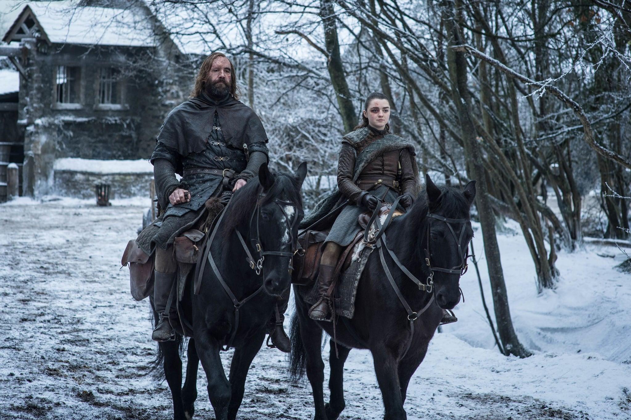 Sandor-Clegane-Arya-Stark