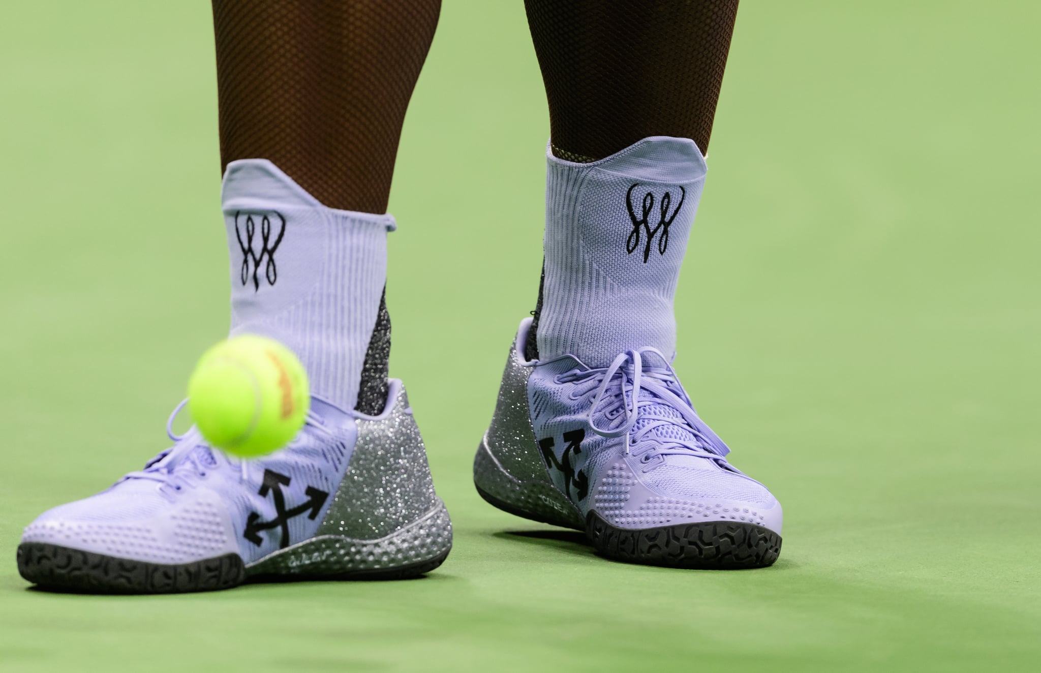 Serena Williams Took a Typical Tennis