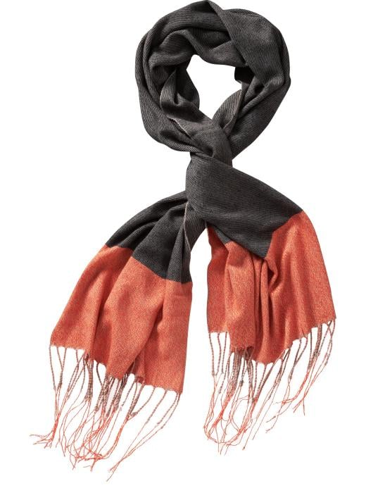 Gap Cozy Colorblock Scarf ($30)